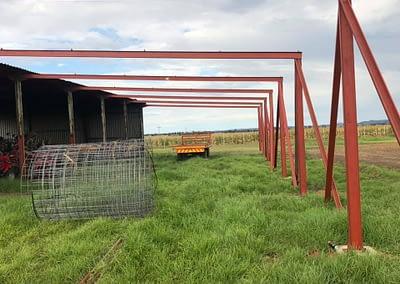 Erecting 2 sheds in Vanderbijlpark